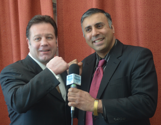 Dr.Abbey with 2 Time World Boxing Champion Bobby Czyz