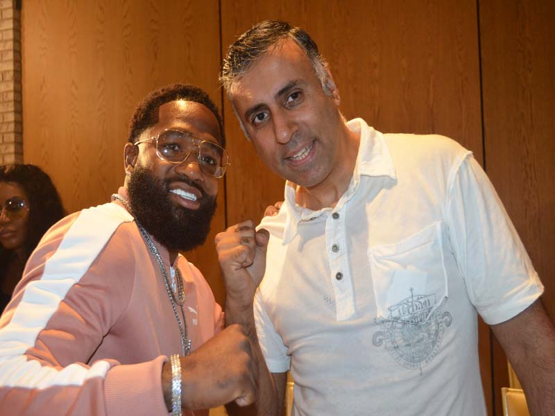 Dr.Abbey with 4 Time World Boxing Champ Adrien Broner