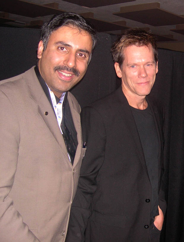 Dr.Abbey with Academy Award Nominee Kevin Bacon