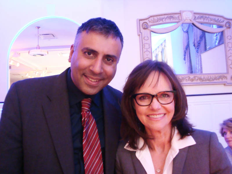 Dr.Abbey with Academy Award winner Sally Field