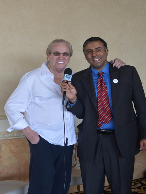 Dr.Abbey with Academy award winning actor Danny Aiello