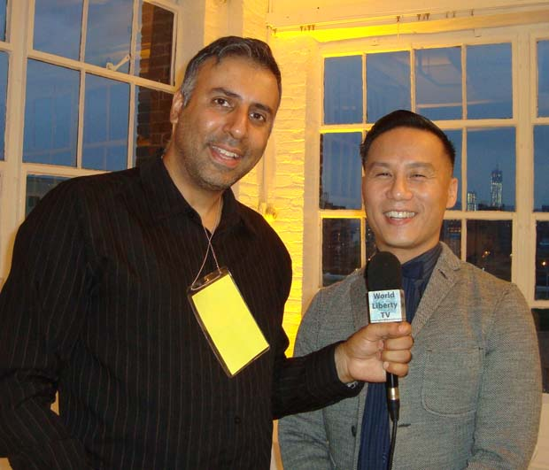 Dr.Abbey with Actor B.D.Wong from Law & Order
