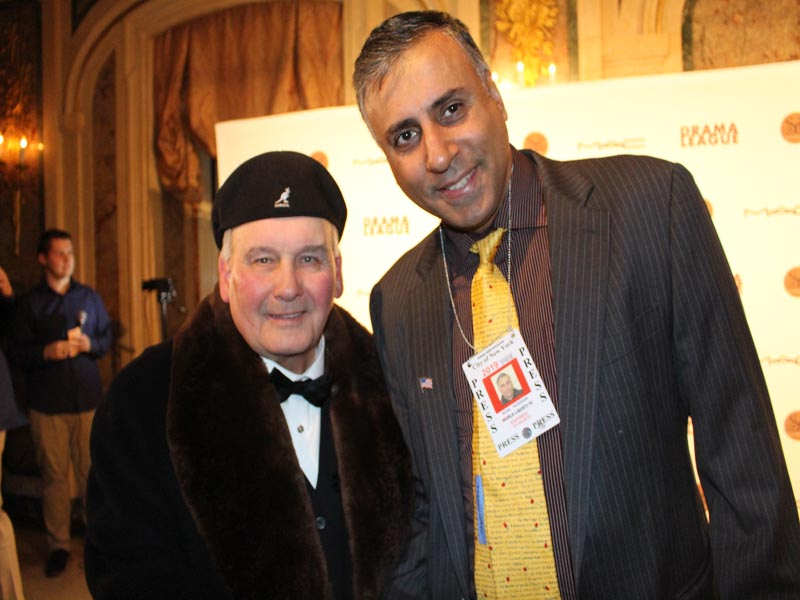 Dr.Abbey with Actor Ernie Sabella