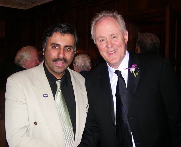 Dr.Abbey with Actor John Lithgow