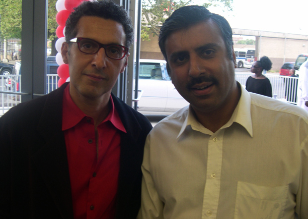 Dr.Abbey with Actor John Turturro