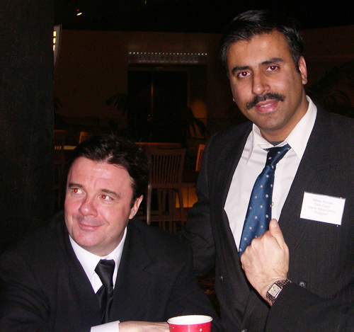 Dr.Abbey with Actor Nathan Lane