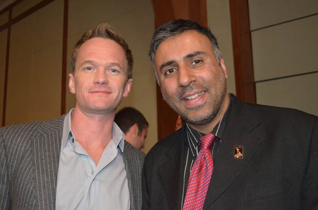 Dr.Abbey with Actor Neil Patrick Harris