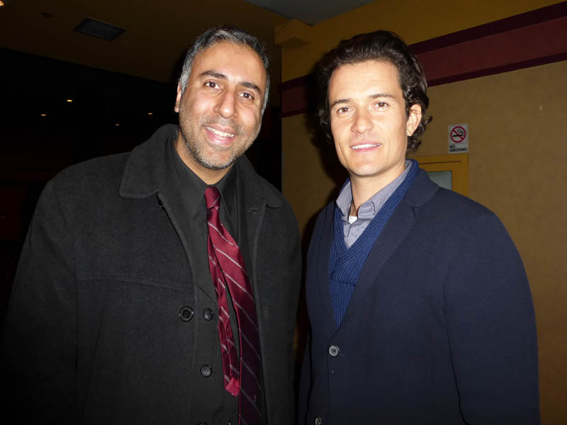 Dr.Abbey with Actor  Orlando Bloom
