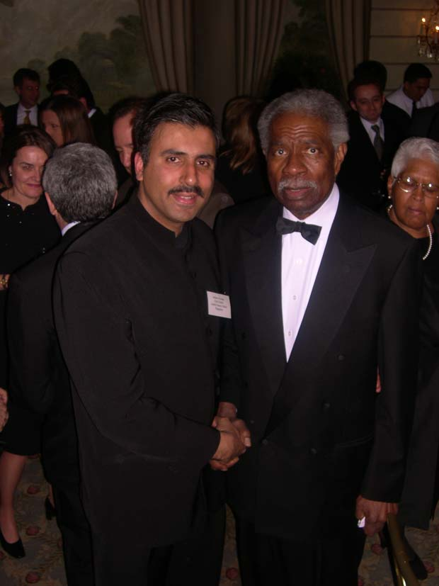 Dr.Abbey with Actor Ossie Davis