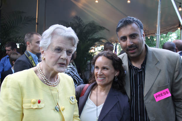 Dr.Abbey with Actress Angela Lansbury