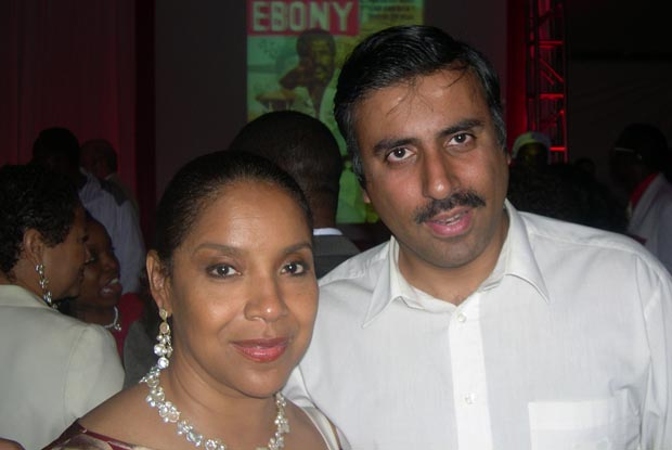 Dr.Abbey with  Actress Phylicia Rashad