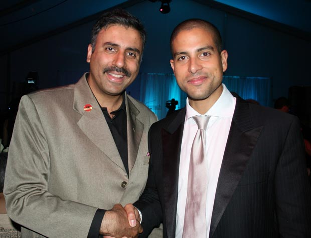 Dr.Abbey with Adam Rodriguez, Actor for CSI Miami