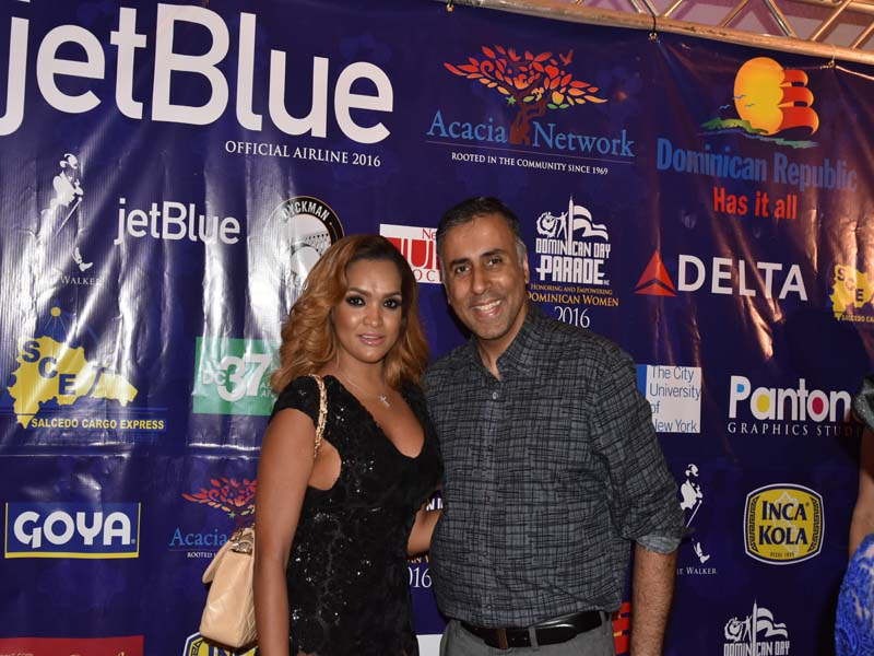 Dr.Abbey with Albania Rosario Founder Uptown Management
