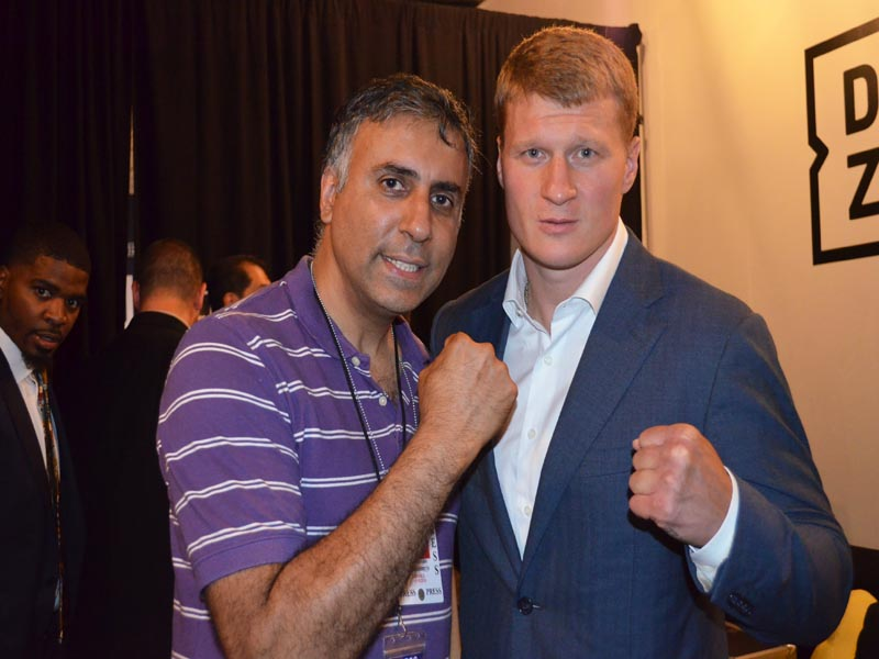 Dr.Abbey with Alexander The Russian Warrior Povetkin Former World Heavyweight Champion