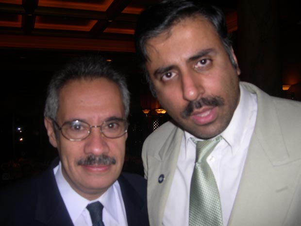 Dr.Abbey with Alfredo Placeras President  NYSFHCC