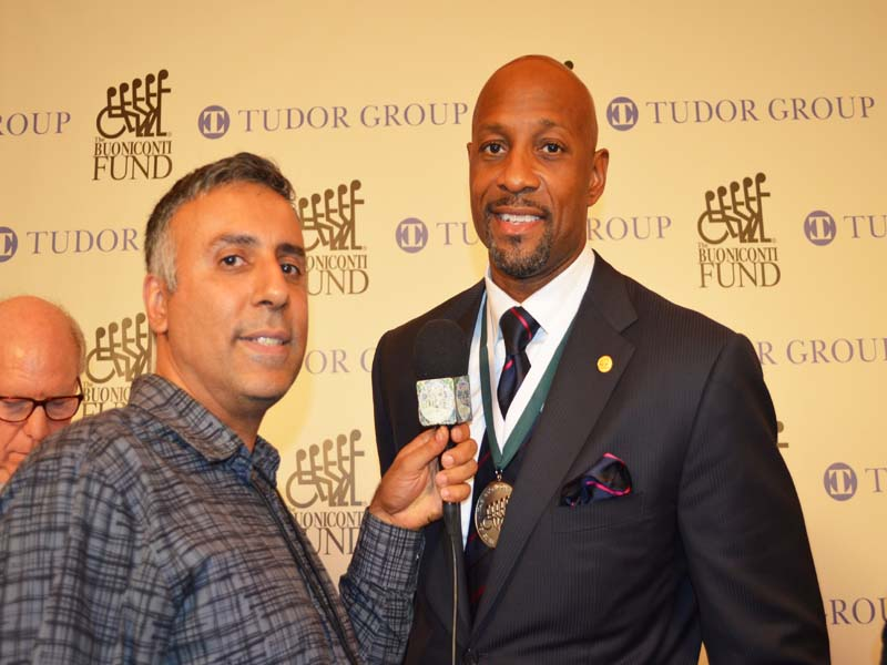 Dr.Abbey with Alonzo Mourning NBA Champion With Miami Heat & NBA Hall of Famer