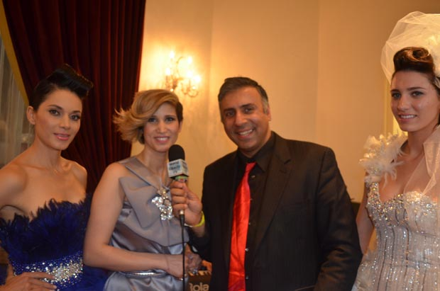 Dr.Abbey with Amal Sarieddine Designer from Lebanon