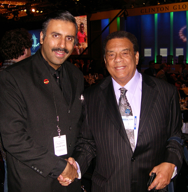 Dr.Abbey with Ambassador Andrew Young