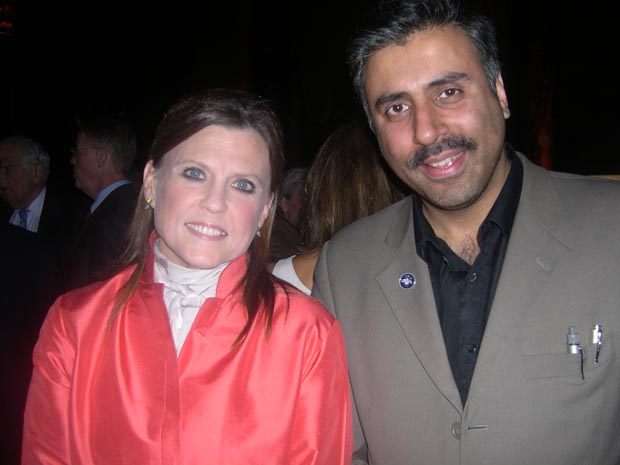 Dr.Abbey with  Ann Reinking Broadway Actress and  Choreographer