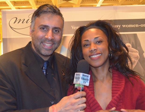 Dr.Abbey with Bag Designer Cheron Cowan