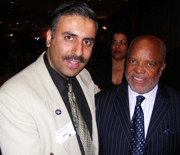 Dr.Abbey with Berry Gordy Founder Motown Records