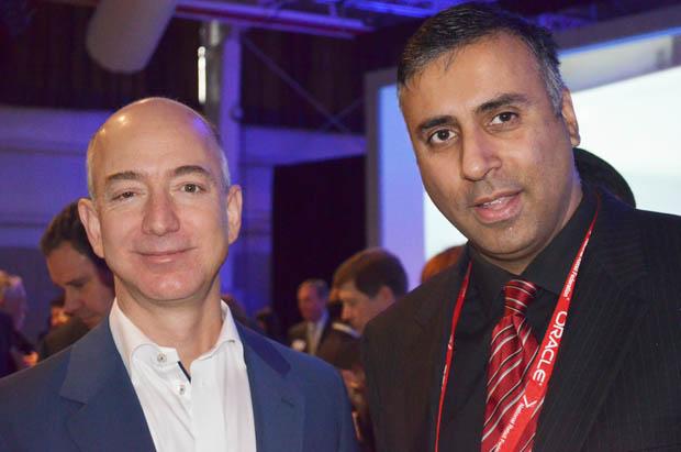 Dr.Abbey with Billionaire  Jeff Bezo's Founder & CEO Amazon.com