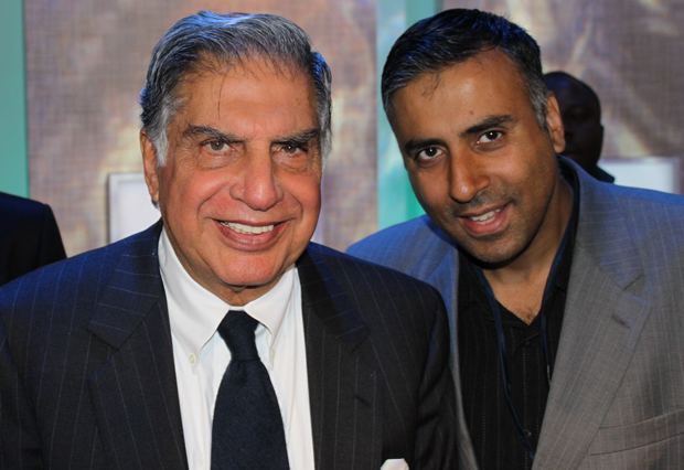 Dr.Abbey with Billionaire Ratan Naval TataChairman  of Tata and Sons