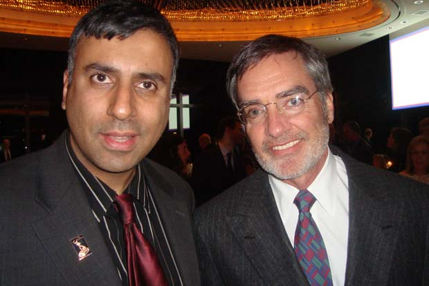 Dr.Abbey with Bob Pittman Former President, AOL