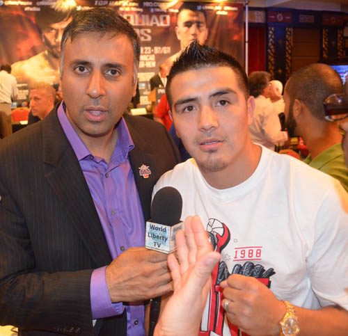 Dr.Abbey with Boxing Champ Brandon Rios