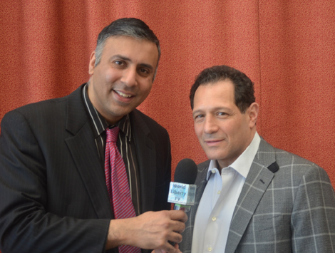 Dr.Abbey with Boxing Fan Frank Russo, Jr