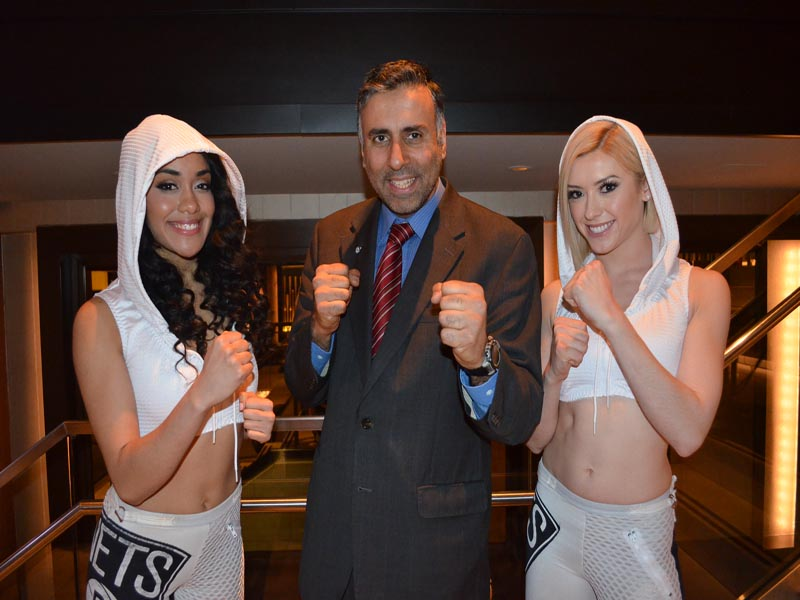 Dr.Abbey with Boxing Girls