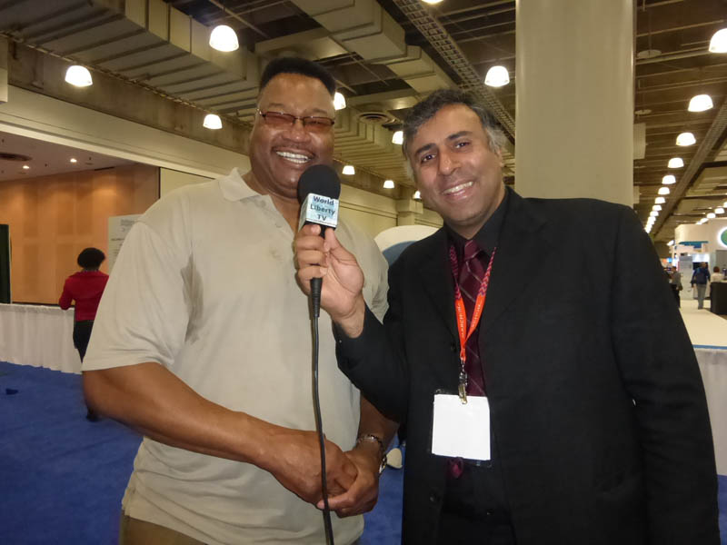Dr.Abbey with Boxing Great Larry Holmes