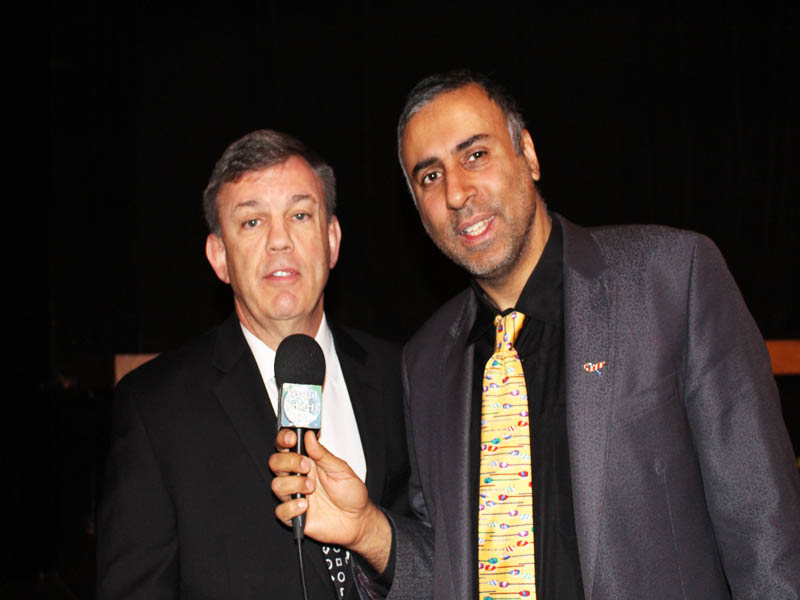 Dr.Abbey with Boxing Trainer Teddy Atlas