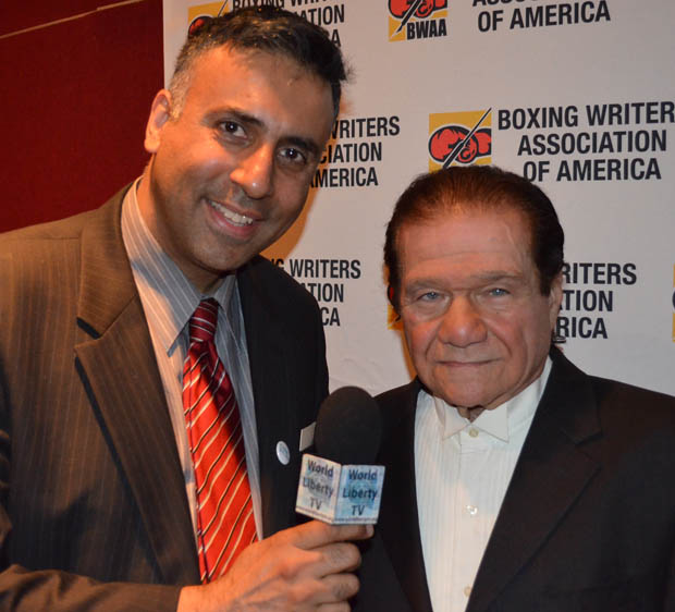 Dr.Abbey with Boxing promoter Don Elbaum