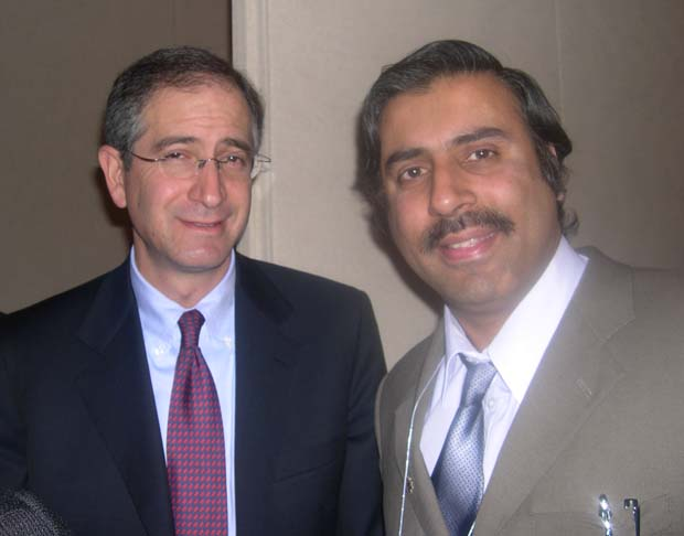 Dr.Abbey with Brian L Roberts Chairman and CEO Comcast