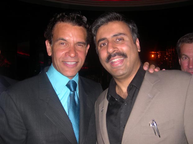 Dr.Abbey with  Brian Stokes Mitchell Actor Singer