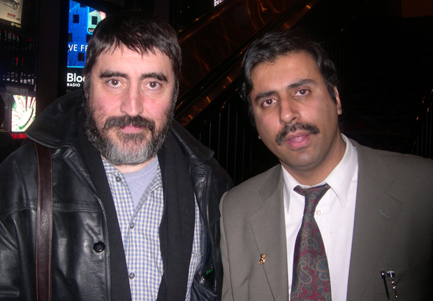 Dr.Abbey with Broadway , TV Actor Alfred Molina