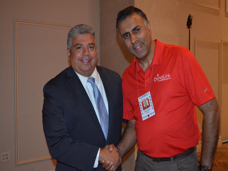 Dr.Abbey with Brooklyn District Attorney Eric Gonzalez