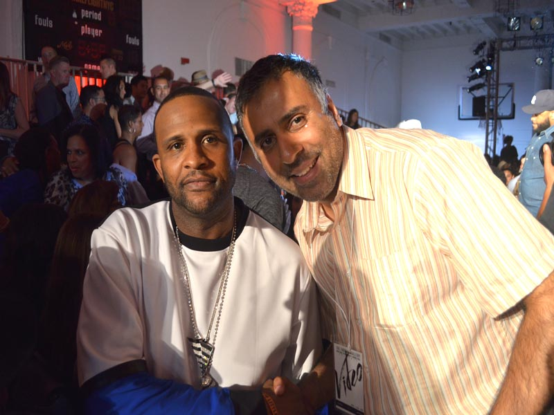 Dr.Abbey with CC Sabathia of NY Yankees