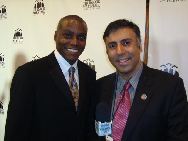 Dr.Abbey with Carl Lewis Track & Field Olympic Great