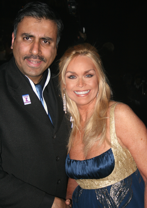 Dr.Abbey with Catherine Hickland  From Broadway's Wicked