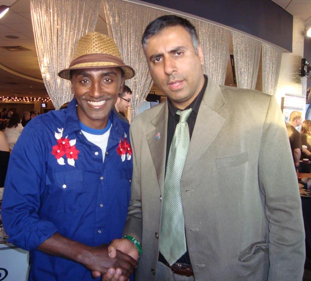Dr.Abbey with Chef   Marcus Samuelsson