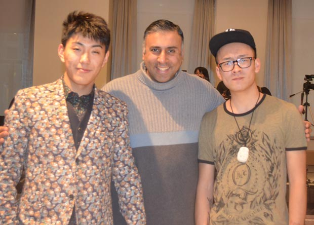 Dr.Abbey with Chinese upcoming designers