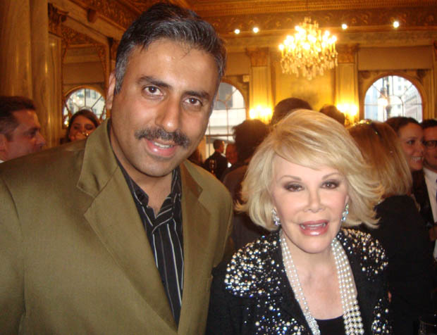 Dr.Abbey with Comedian Joan Rivers