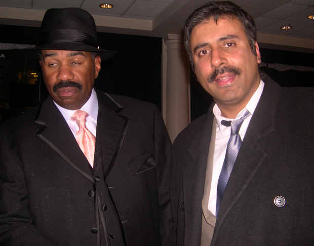 Dr.Abbey with Comedian Steve Harvey