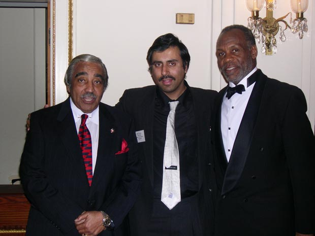 Dr.Abbey with Congress man  Charles Rangel and Actor   Danny Glover