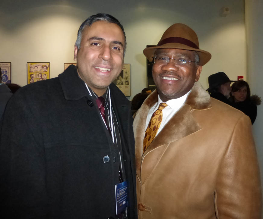 Dr.Abbey with Congress member Gregory Meeks