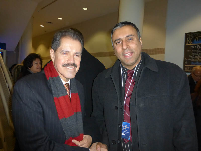 Dr.Abbey with Congress member Jose Serrano