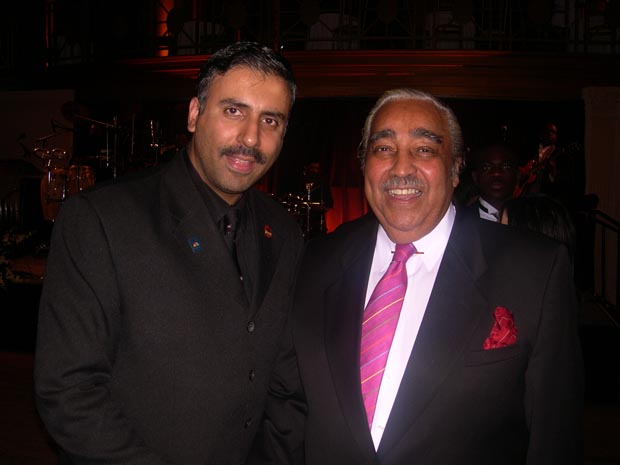 Dr.Abbey with Congressman Charles Rangel