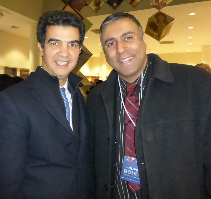 Dr.Abbey with Council Member Ydanis Rodríguez